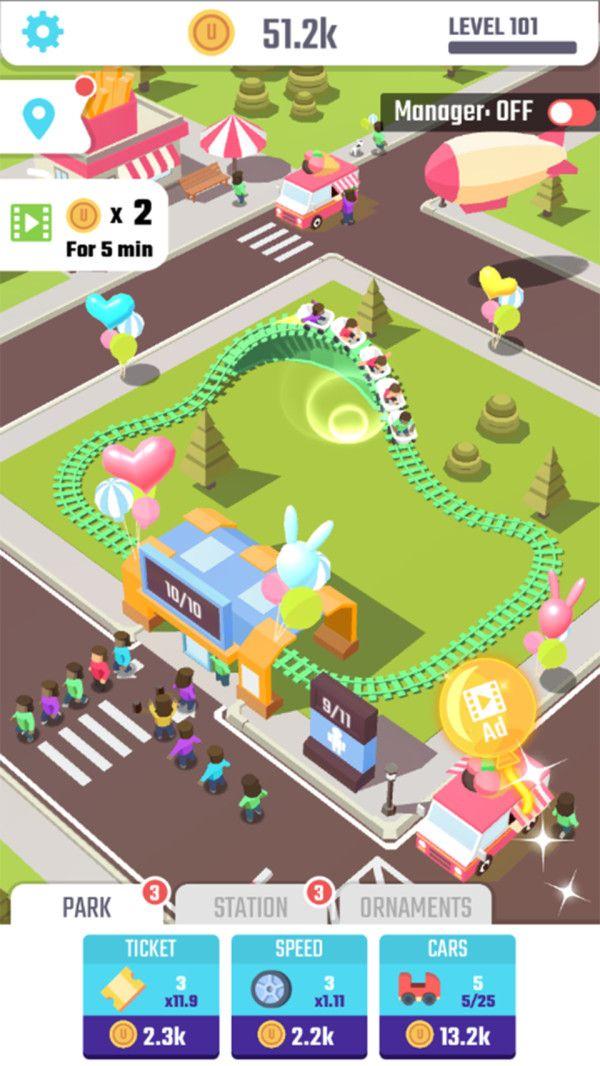 有趣的过山车游戏最新版下载图片2