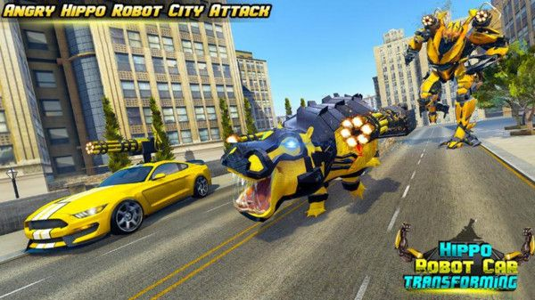 大黄蜂变形战斗游戏图4
