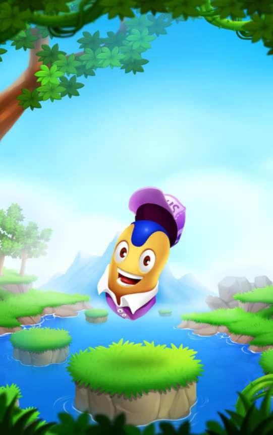 好玩的跳跳豆冒险游戏安卓最新版图片1