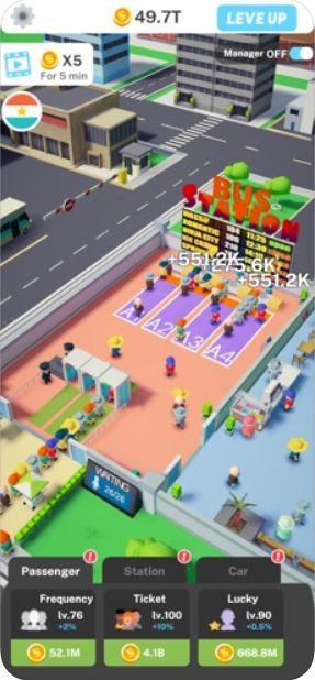 Idle Bus Tycoon游戏中文手机版下载图片2