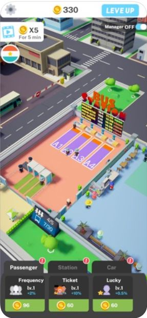 Idle Bus Tycoon游戏中文手机版下载图片4