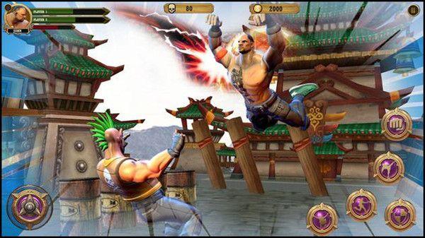世界冠军摔跤格斗游戏中文版图2