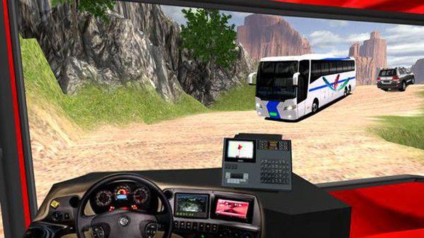 公共汽车司机模拟器山丘游戏中文版最新下载图片2