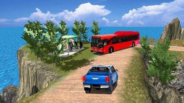 公共汽车司机模拟器山丘游戏中文版最新下载图片3
