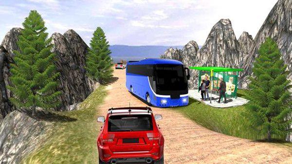 公共汽车司机模拟器山丘游戏中文版最新下载图片4