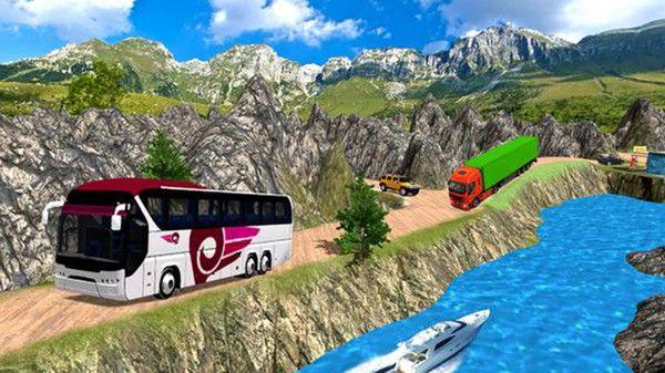 公共汽车司机模拟器山丘游戏中文版最新下载图片1