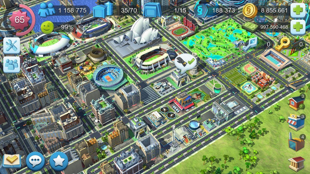 模拟城市建设无限金币修改版游戏下载图1: