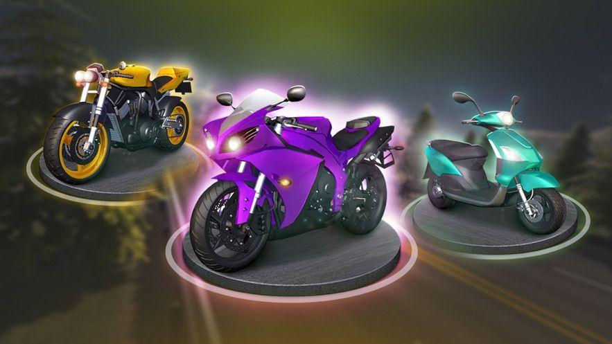 摩托车之直线加速无限金币修改版图片2