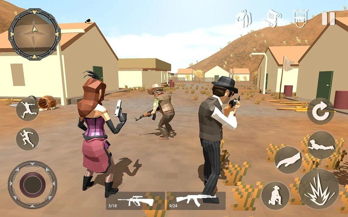 像素移动射击游戏最新中文版下载图片1