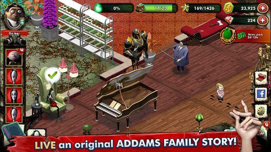 亚当斯一家神秘公寓破解版图1