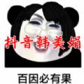 網紅韓美娟表情包APP