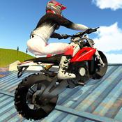 摩托特技越野拉力赛