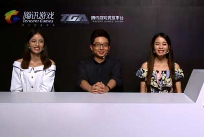 全民超神Chinajoy现场腾讯主舞台表演赛[图]