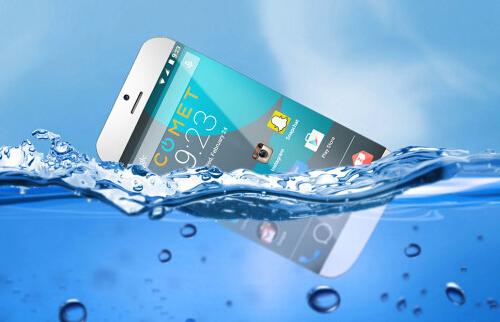 这款手机将防水做到极致 居然能漂浮在水面[多图]