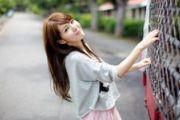 美女图片:清纯美女唯美户外写真[多图]