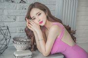 美女图片:粉红系美女,演绎纯情少女风[多图]