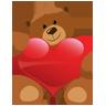 小熊送礼物