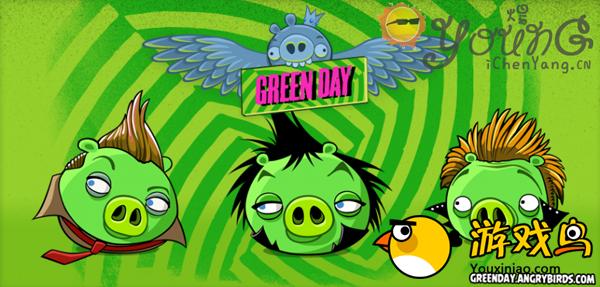 愤怒的小鸟牵手Green Day乐队 将推音乐特别版[图]图片1