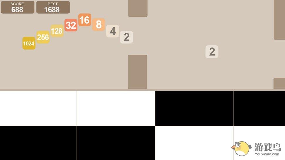 Flappy48别踩白块儿图3: