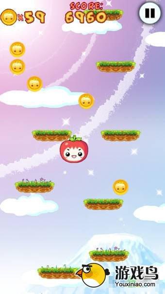 《水果跳跃》评测: 这回不玩切割玩跳跃!图片3