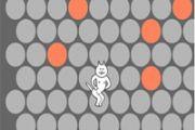 《围住神经猫》游戏视频之两步围住神经猫