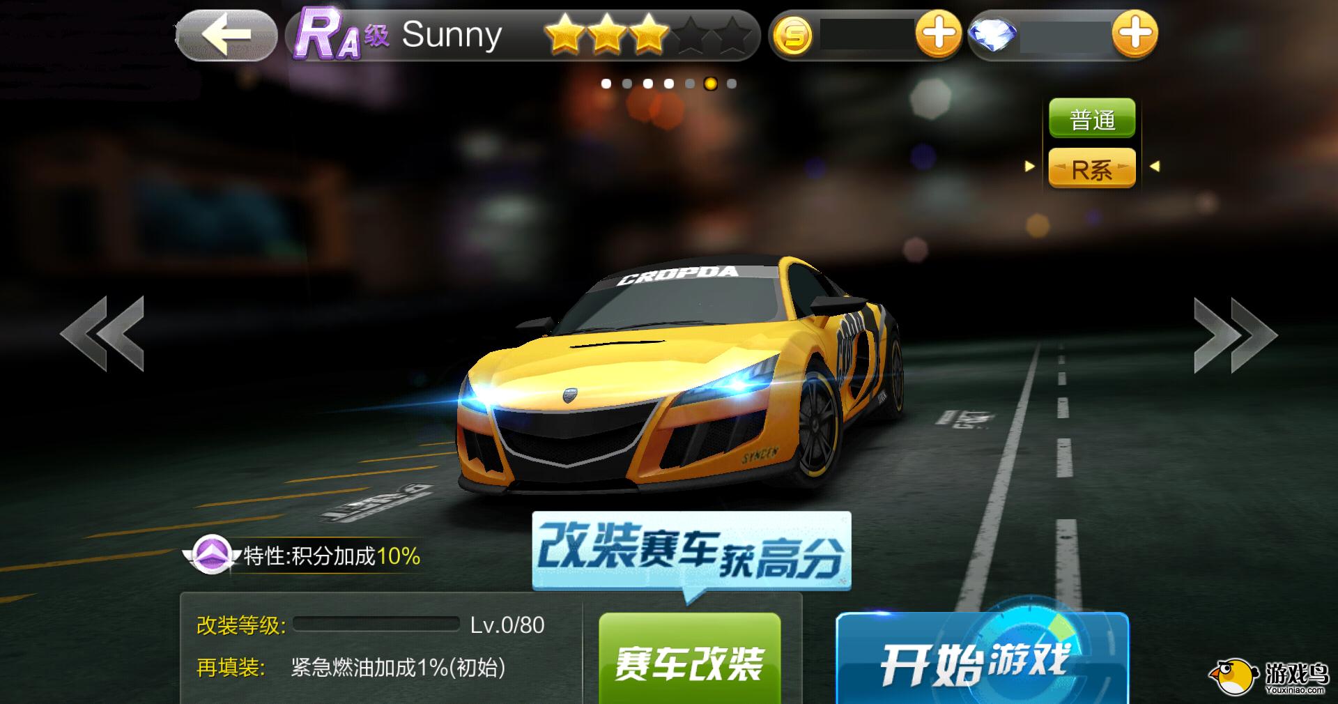RA级Sunny 赛车性能介绍[图]图片1