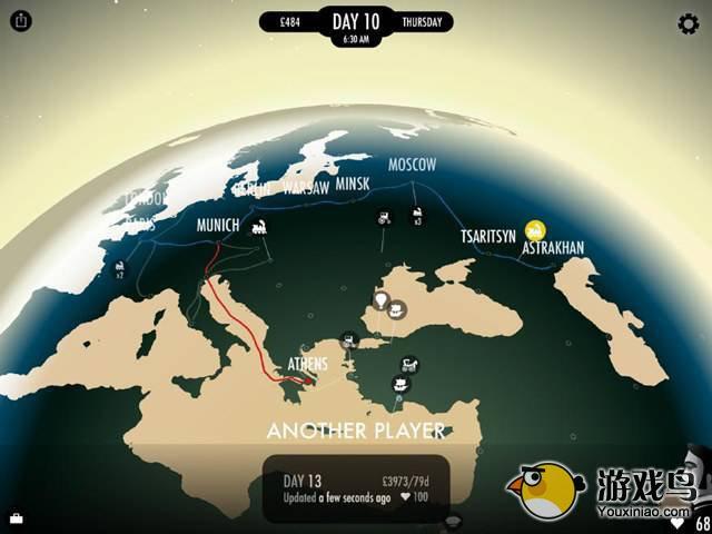 《80天环游世界》改编游戏《80 Days》iPhone测评[多图]