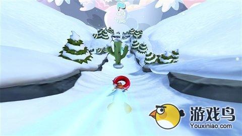 企鹅俱乐部滑雪赛评测 轻松的跑酷类游戏[多图]图片2