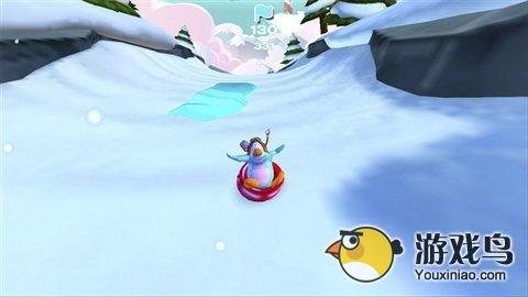 企鹅俱乐部滑雪赛评测 轻松的跑酷类游戏[多图]图片4