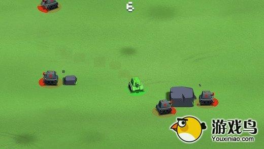 碰碰车游戏《暴走坦克大战》上架IOS平台图片1