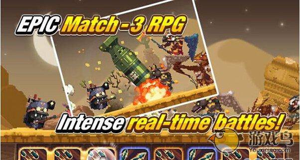消除RPG《十字军远征》正式上架双平台[视频][多图]图片1