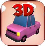卡通赛车3D