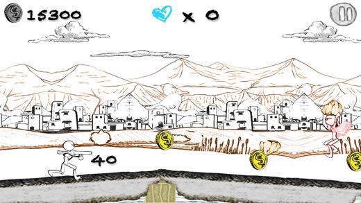 超级素描人英雄VS愤怒的棒人陆军2图1: