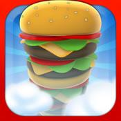 空中叠汉堡