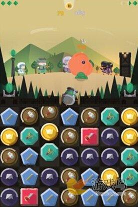 《长期封锁》评测:对推塔防战斗三消游戏