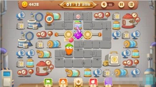 保卫萝卜3第15关工厂金萝卜怎么获取[多图]图片3