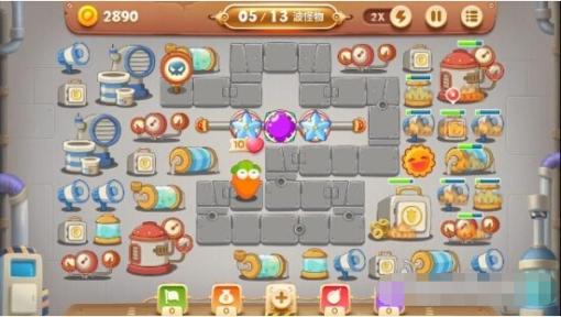 保卫萝卜3第15关工厂金萝卜怎么获取[多图]图片4