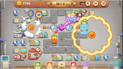 保卫萝卜3第15关工厂金萝卜怎么获取[多图]图片6