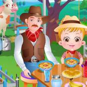 可爱榛果宝贝的农场之旅