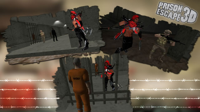 越狱3D图2: