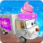 3D冰淇淋儿童车