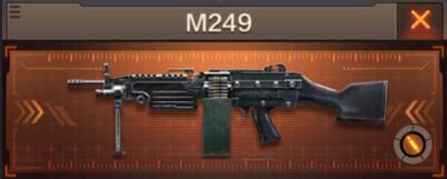 CF手游枪战王者M249机枪性能评测及获取途径