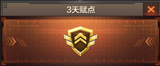 CF穿越火线枪战王者3天赋点道具实用价值