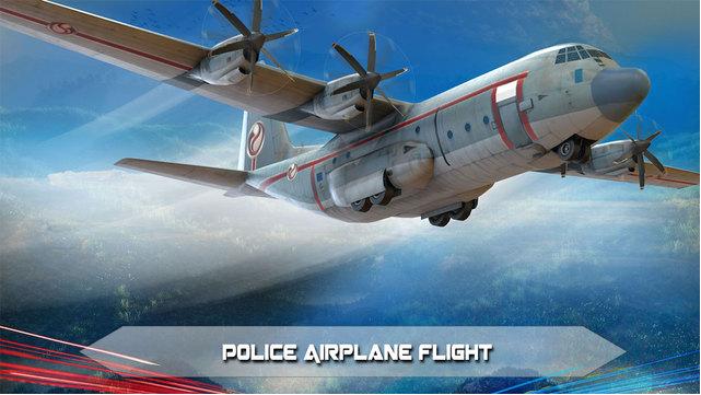 警方飞机监狱航班图2:
