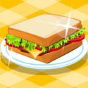 阿Sue烧烤猪肉三明治