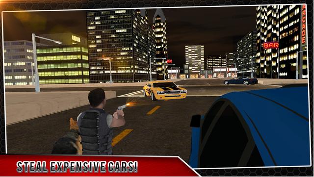 城市市汽车3D:盗窃汽车司机图2: