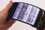 全球首款柔性屏手机亮相 可以任意弯曲[图]