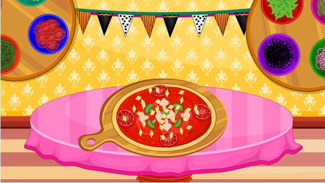 为晚餐做披萨图4: