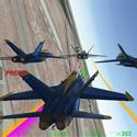 蓝色天使模拟
