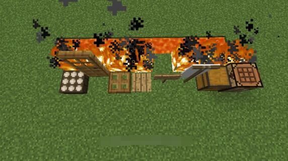 周围的大火 我的世界岩浆神奇的作用介绍[多图]图片2